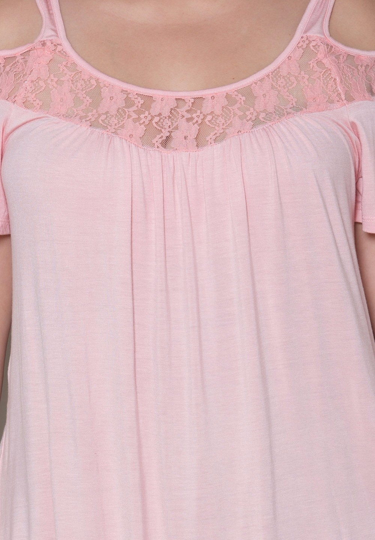 HTB1K1eQKFXXXXX1XVXXxh4dFXXXz - Off Shoulder Summer Tops Short Sleeve Lace Patchwork Loose