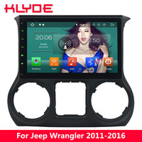 KLYDE 10.1 IPS 4G WIFI Android 8 Octa Core 4GB RAM 32GB ROM Car DVD Multimedia Player Radio Stereo For Jeep Wrangler 2011 2016