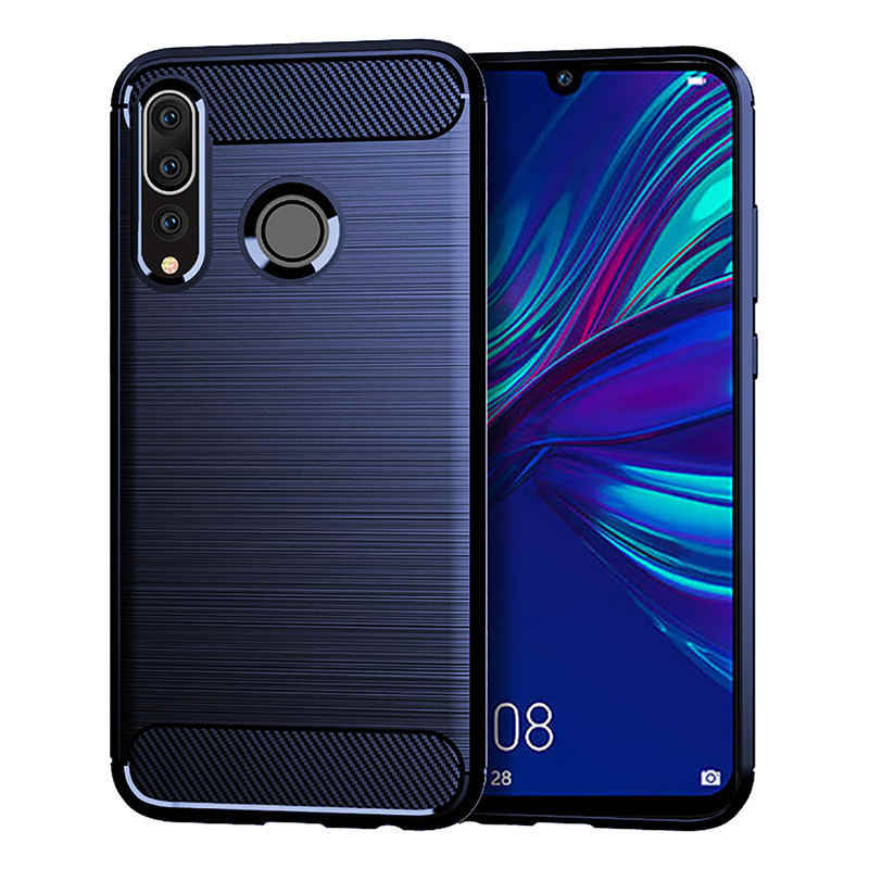 Huawei P Smart Plus 2019 suave de silicona TPU cubierta de la caja del teléfono para Huawei P Smart Plus 2019 Psmart de vuelta 6,21