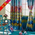 morden sun-shading curtain cloth for windows small child kids real cartoon curtain for boy girl bedroom