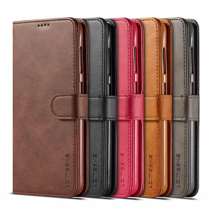 Housse étui pour SAMSUNG Galaxy A40 A 40 coque de téléphone luxe magnétique rabat Vintage haute qualité portefeuille en cuir sac pour SAMSUNG A40 S