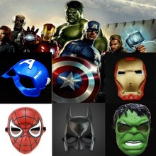 10pc/lot Empire Storm Clone Trooper Cosplay Soldiers Party Halloween Hulk Spiderman Mask for Kids Darth Vader