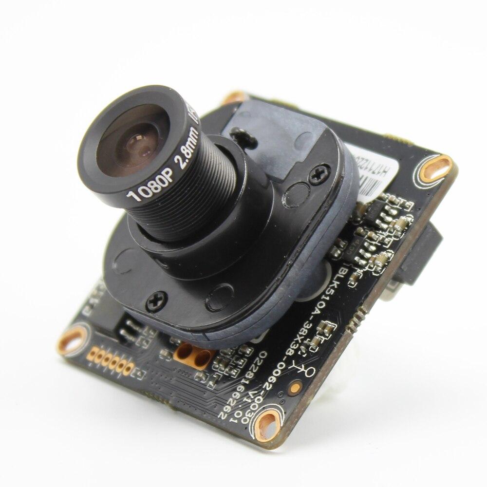 H.265 Conseil IPC 1080 P Hi3516E CMOS capteur d'image DIY CCTV IP caméra module PCB conseil avec IRCUT ONVIF APP XMEYE 720 P XM510