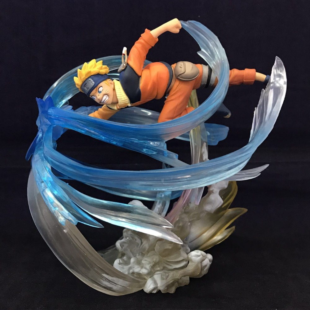 Naruto Figure Uzumaki Naruto Uchiha Sasuke Figuarts ZERO 22CM PVC Action Figure Anime Toy Collection Model Gift