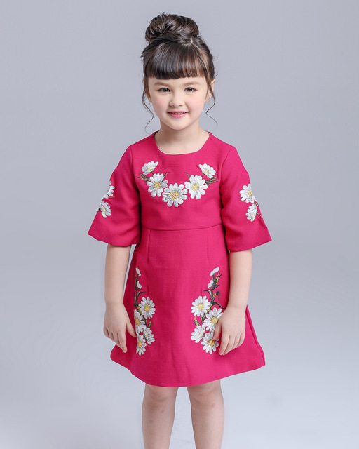 21d50aa91 Children Clothing Dresses 2016 Spring And Summer European American ...