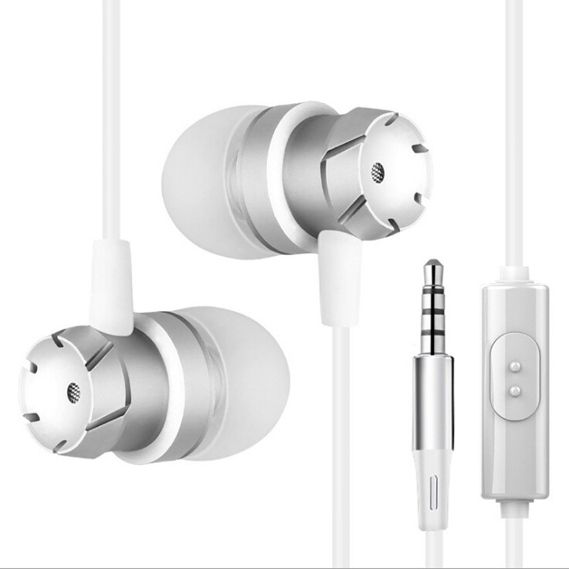 In-Ear Earphone for <font><b>Xiaomi</b></font> <font><b>Redmi</b></font> <font><b>note</b></font> 5 5a <font><b>4x</b></font> 4 3 pro 3s 3x 4a Prime Stereo Phone Heavy Bass Headset Sport Earpiece With Mic image