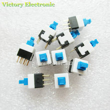 Self-Lock Latching-Switch Tactile Power-Micro-Switch 6pin-Push Wholesale Electronic On/off-Button