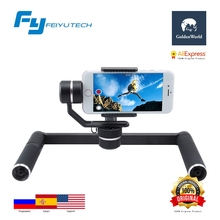 Original Feiyutech FY SPG PLUS 3 Axis Handheld Gimbal Dual Hand Professional Photography Stabilizer for iPhone