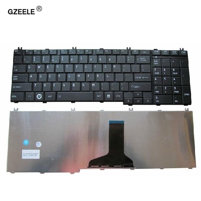 GZEELE clavier dordinateur portable américain, pour Toshiba Satellite L750 L750D L755 L755D L770 L770D L775 L775D V114346CS1, anglais noir, nouveau