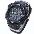 Top Marca ALIKE Relógio Masculino À Prova D' Água Ao Ar Livre Esportes Relógios Men Quartz Horas Relógio Digital LED Militar Relógio de Pulso