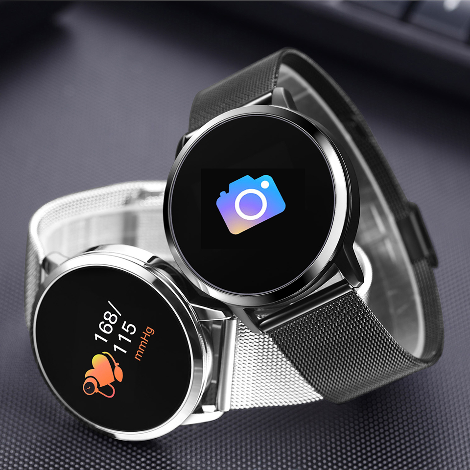Smart Watch Men Women OLED Color Touch Screen Heart Rate Monitor Blood Pressure Sports Waterproof Fitness Smart Watches ClockSmart Watch Men Women OLED Color Touch Screen Heart Rate Monitor Blood Pressure Sports Waterproof Fitness Smart Watches Clock