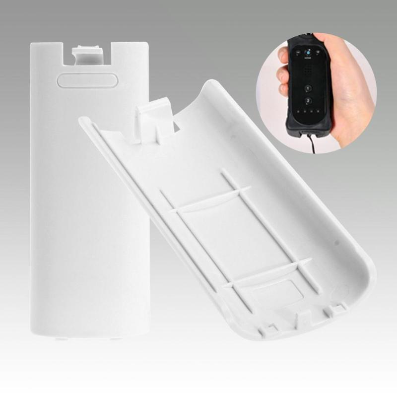 Battery Case Wireless Game Controller  Back Cover For Nintend Wii Remote Controller Gamepad Handle Battery Cases