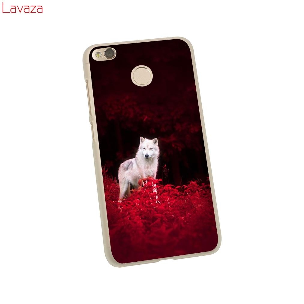 Lavaza Wolf Hard Case for Xiaomi Redmi 4X Mi A1 8 SE 6 5 5X 5S Plus Note 5A 4A 3 3S 4 4X 5 Pro Prime Cover