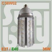 Comparar Envío Gratis Epistar chip led 36 W bombilla 85 277VAC 360 grados E40 llevó la lámpara