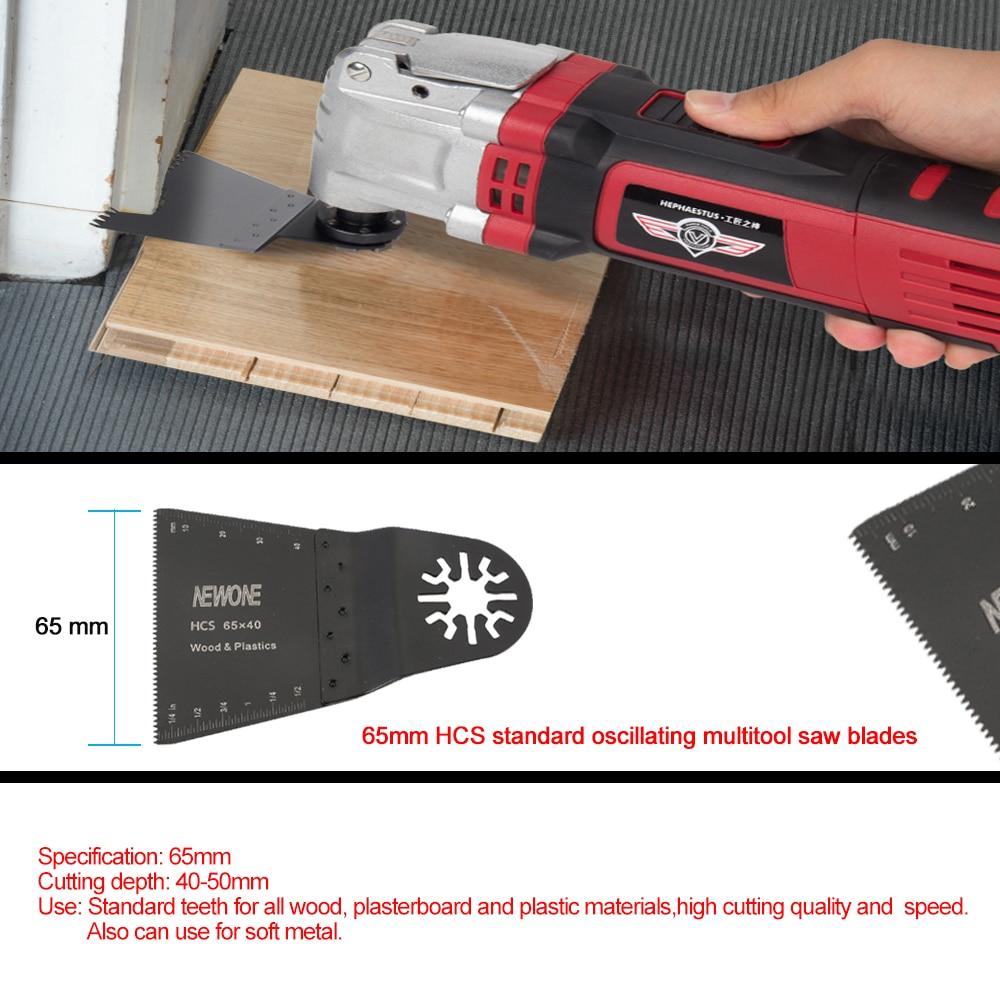 Newone 11 piezas de madera / metal de múltiples hojas de sierra - Hojas de sierra - foto 5