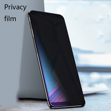 Privacy Anti-Spy Glass For One plus 6 Tempered Full Cover Anti-Glare Screen Protector Film