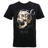 Sullen Men's Bone Filigree Premium T Shirt Summer 2018 Short Sleeve Plus Size White O Neck Cotton