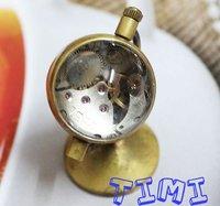 الجملة العالم تصميم كريستال الكرة زجاج خمر الجيب ووتش الجرس
