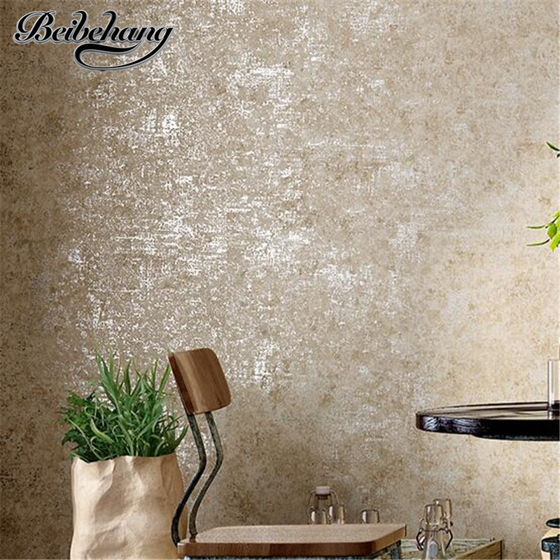 beibehang industrial wind solid color wallpaper nonwovens living room bedroom clothing store simple plain wallpaper nostalg beibehang nonwovens healthy fashion