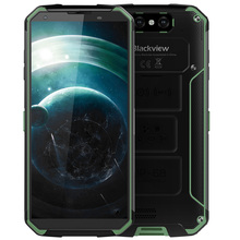 Blackview BV9500 4G Smartphone 5.7″ Android 8.1 MT6763T Octa Core 4GB+64GB 16.0MP Dual Rear Cameras Wireless Charging Cellphone