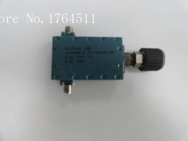 [BELLA] NORSAL 7141-15 12-15GHZ 60dB Adjustable Variable Attenuator