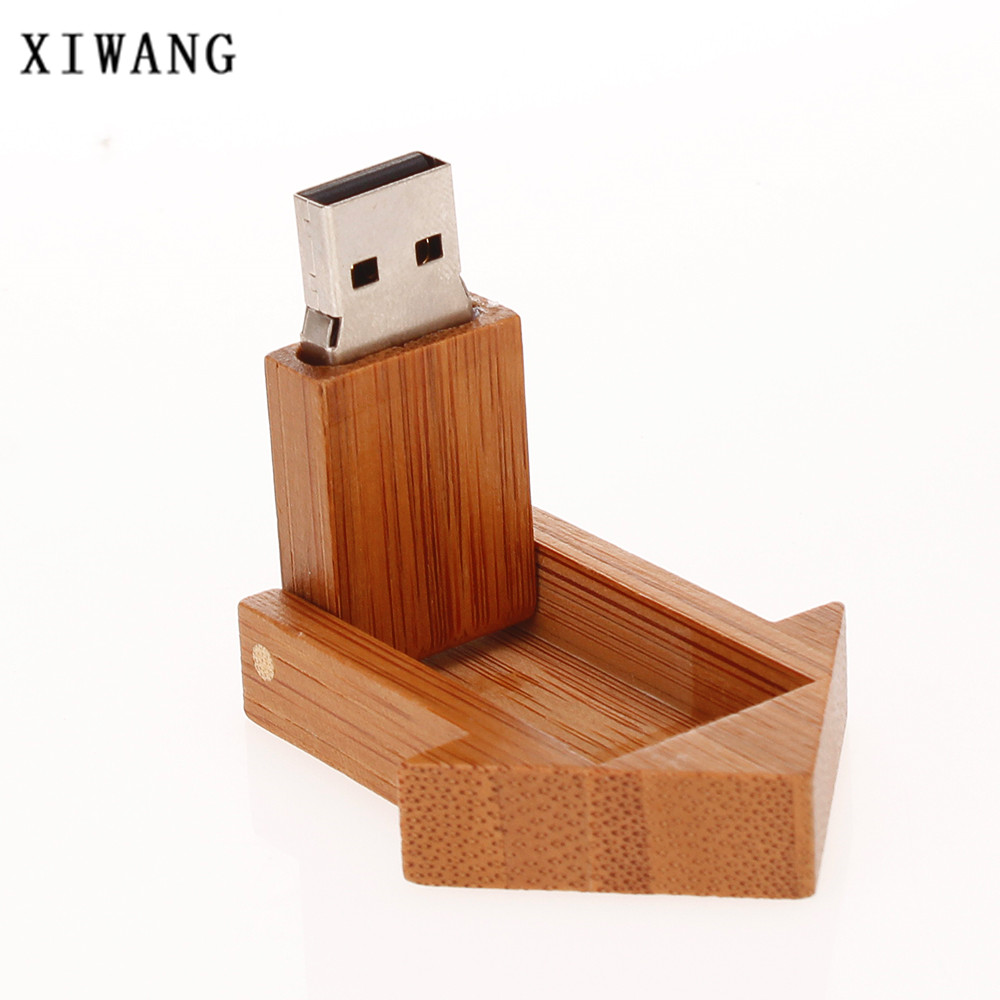 Image 3 - Usb flash drive 2.0 wooden room 4G 8GB pen drive 16G Pendrive 32G 64GB USB memory stick 128gb Bamboo special gift free shipping-in USB Flash Drives from Computer & Office