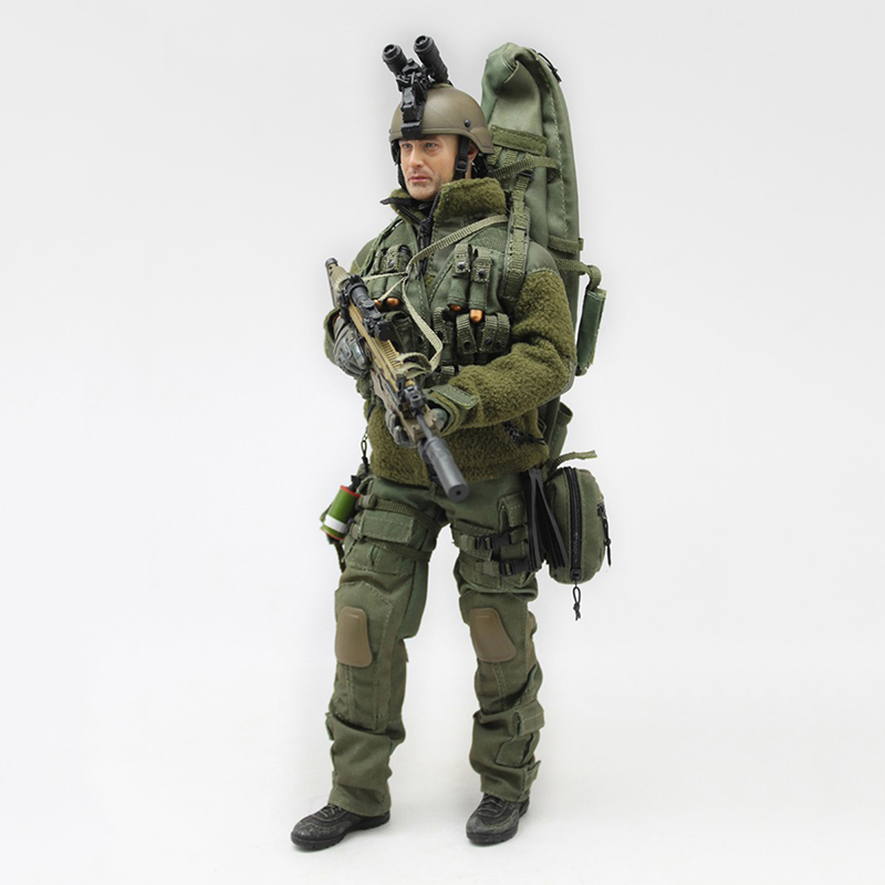 2 Colors 1/6 Scale The Sniper Shooter Mercenary Clothes and Accessories Set for 12''Soldiers Bodies
