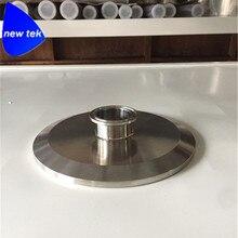4 in. (119mm) x 1.5 in. (50.5 millimetri OD) Tri Morsetto End Cap Riduttore Riduttore di SS304 Tri Clover Piatto