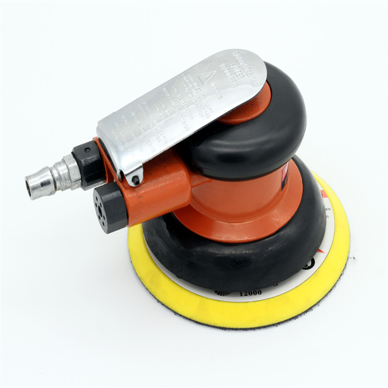 Free Shipping Pneumatic Polishing Machine polisher Air Sander 5-6 inch Air Sander Air orbital sander Burnish machine swingable pneumatic eccentric grinding machine 125mm pneumatic sander 5 inch disc type pneumatic polishing machine