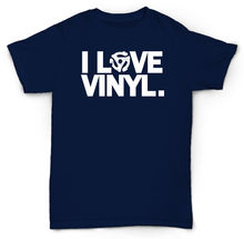 I LOVE VINYL 45 rpm adapter T-shirt