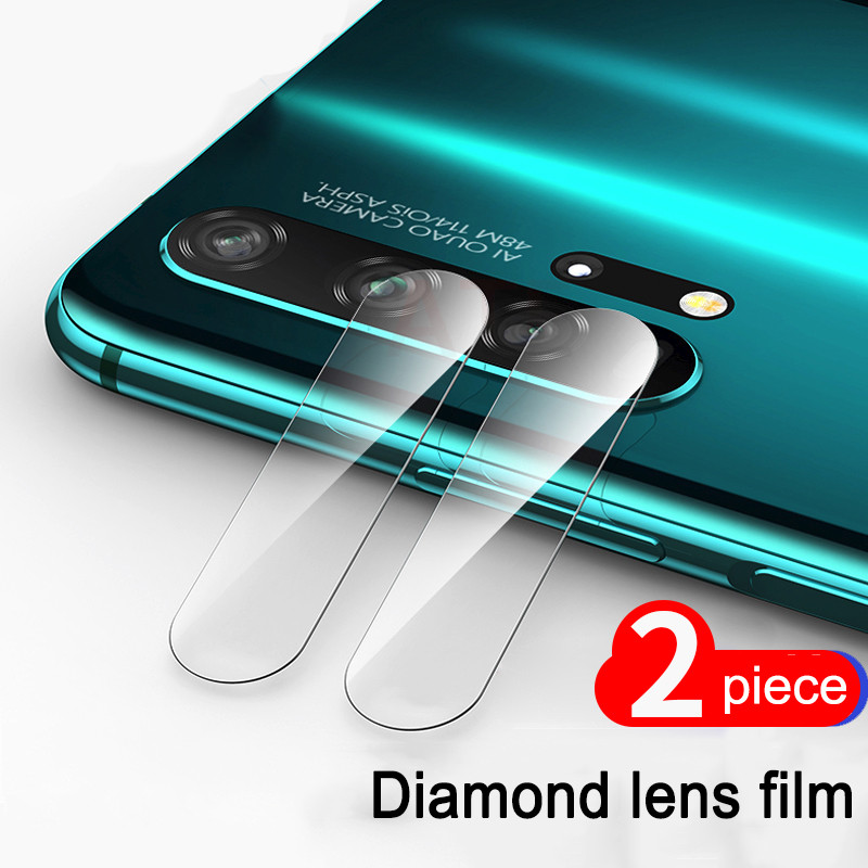 2Pcs Back Camera Lens Tempered Glass for huawei P30 P20 honor 20 lite Pro honor 10 lite 10i 20i Protector Film image