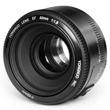 YONGNUO 50mm foco fijo lente EF 50mm F/1.8 AF/MF Gran Apertura de Enfoque Automático lente Para Canon