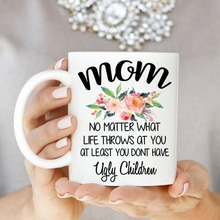 Mothers Day mom mugs ceramic Tea milk wine beer friend gifts novelty Anniversary Gift
