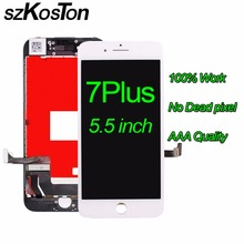100% Tested For Iphone 7 plus Lcd Screen Display 5.5 inch For Iphone7 plus lcd Sscreen and touch digitizer assembly Wtih tool