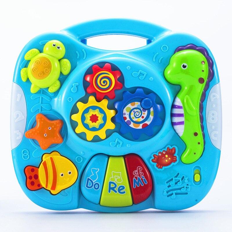 Детские игрушки 13 24 месяцев Oyuncak музыкальные Обучающие счастливые игрушки для малышей младенцев игрушка на коляску игрушки для детей