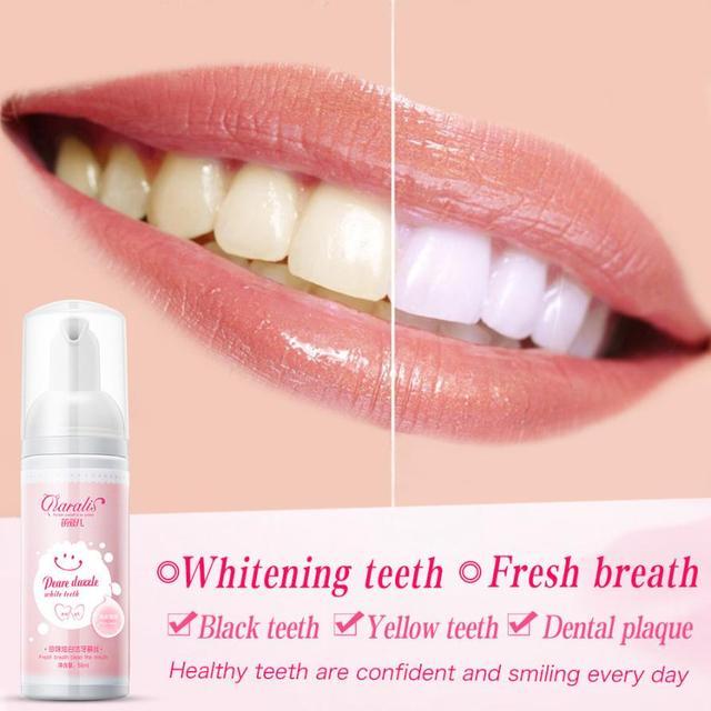 Murni Alami Menghilangkan Noda Gigi Kuning Pemutih Oral Mulut