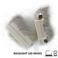 500PCS/Lot NICHIA SMD LED Mobile Phone Backlight Bar 3004 3V 0.06-0.1W Cool white For TV Lamp beads