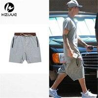 2016 Summer Fear Of God Shorts Men Streetwear Hip Hop Men Zipper Short Pants Brand Jogger