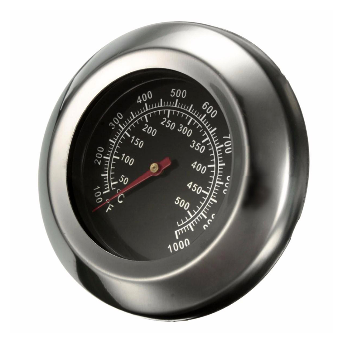 FJS-Dia 3 Degrees Celsius/Fahrenheit 50~500Degrees Celsius Roast Barbecue BBQ Pit Smoker Grill Thermometer Temp Gauge