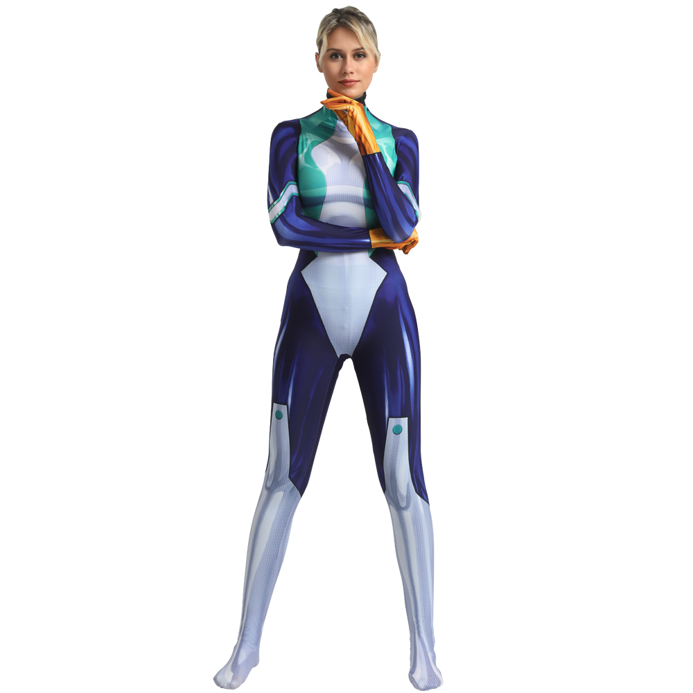 Image 2 - Anime My Hero Academia Nejire Hado Cosplay Costume Zentai Bodysuit Adults One Piece Suit Boku no Hero Academia Lycra Jumpsuits-in Anime Costumes from Novelty & Special Use