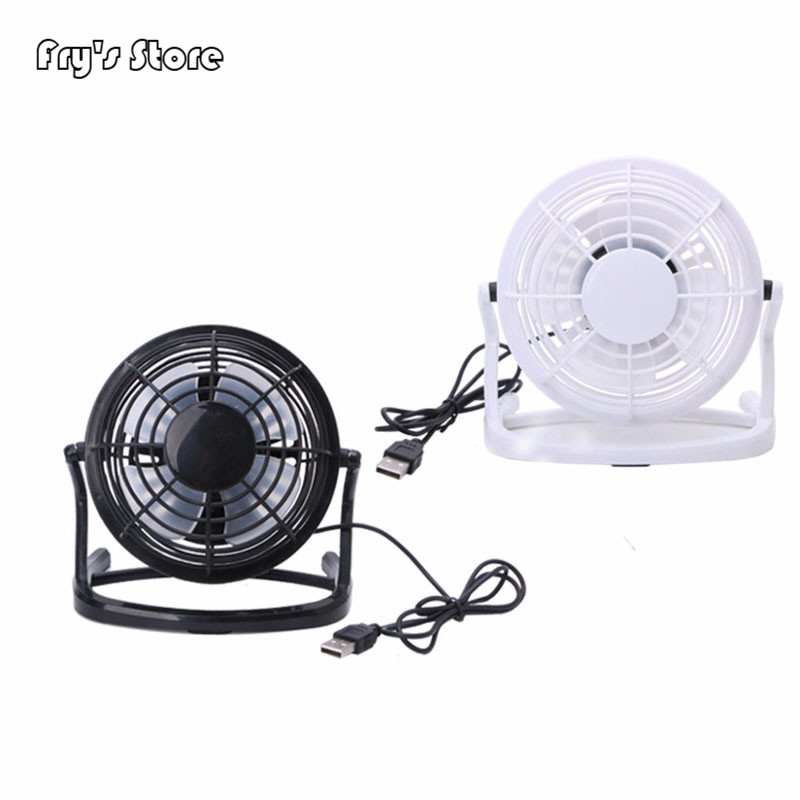 Fry's Store Mini Portable Super Mute Plastic USB Fan Desk Cooling Laptop Notebook PC Cooler For Dropshipping