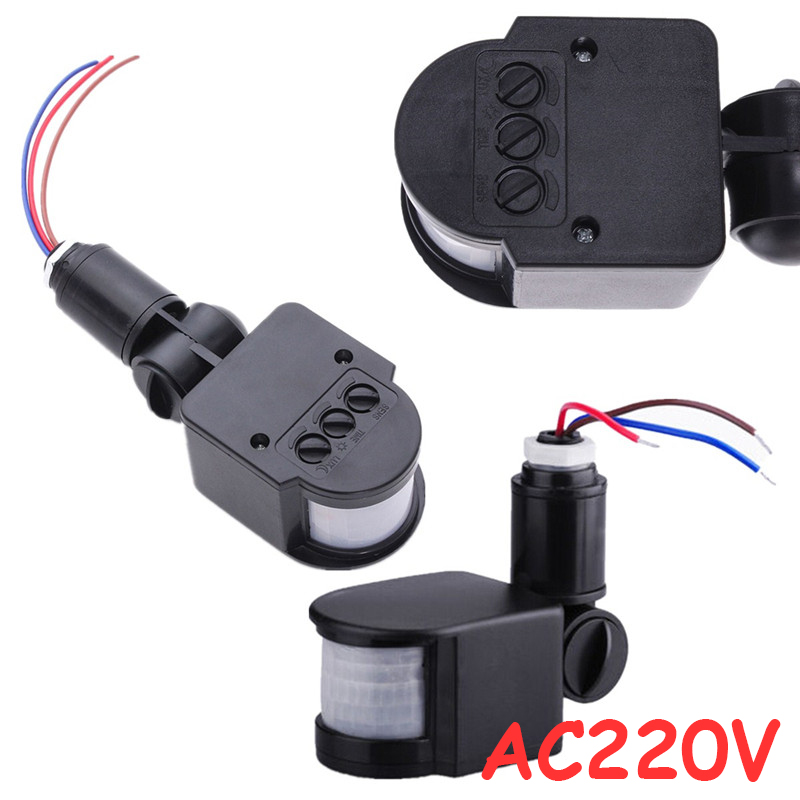 180 Degree 12m Automatic Automatic Adjustable Security Infrared Motion Sensor Switch Switch