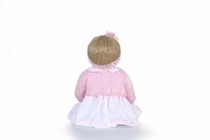 "Image 4 - NPk 22 ""בובת reborn צעצועי בני בנות מתנה מלא סיליקון גוף ויניל reborn תינוקות bebe אמיתי בחיים reborn bonecas brinquedo"
