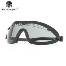 Эмерсон Армия Военной Техники Airsoft Пейнтбол CQB Стрелялки Шлем Безопасности Goggle ЭМЕРСОН Тактический Boogie Регулятор Goggle $