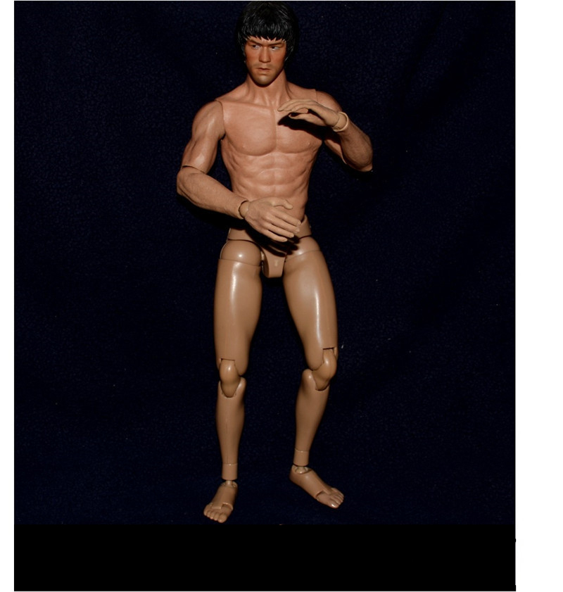 """ZC TOYS S005 12/"""" Asian Narrow Shoulder Muscular Male Action Figure Body No Head"""