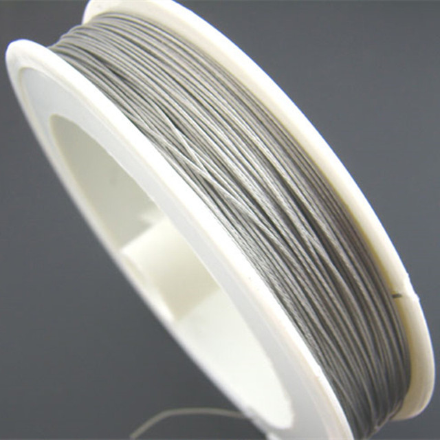 70M/Roll Silver Tone Beading Wire 0.38mm DIY Jewelry Making