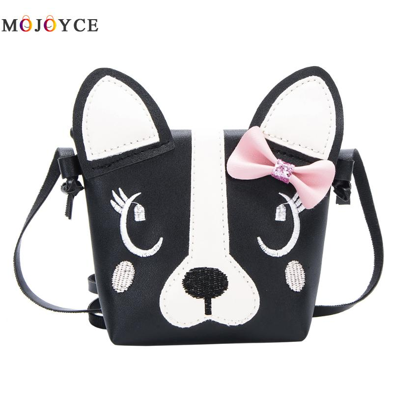 Children Handbag For Girl Dog Shoulder Bag Kids Purse PU Leather Boy Messenger Bag Child Crossbody Bag Wallet