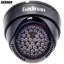 GADINAN 12V 48pcs IR 60 Degrees Bulbs CCTV Led Board 850nm Infrared Assist LED Lamp For CCTV Security Surveillance IP Cameras
