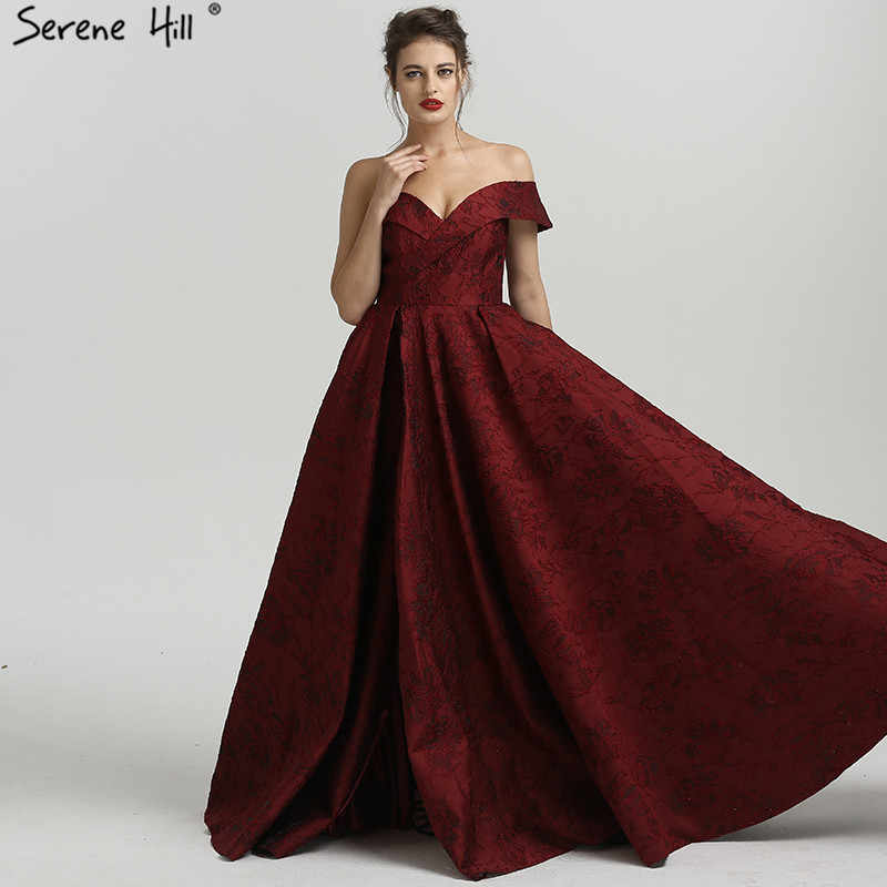 3108b5f57f Sexy Off Shoulder Long Split Formal Evening Prom Gown Dress Gowns Dresses  Robe De Soiree Serene