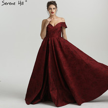 Sexy Off Shoulder Long Split Formal Dresses Serene Hill